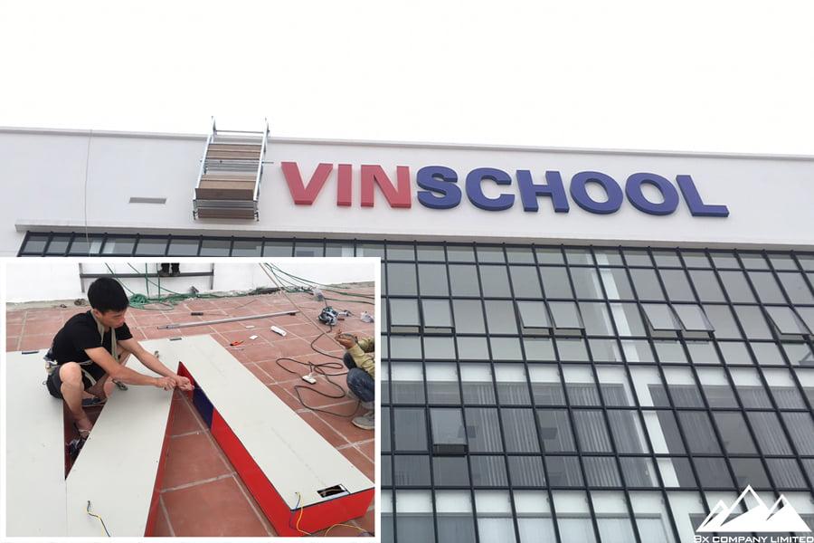 Công trình trường Vinschool Nam An Khánh (2)