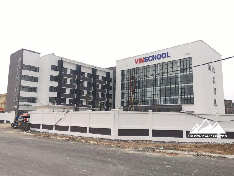 Công trình trường Vinschool Nam An Khánh