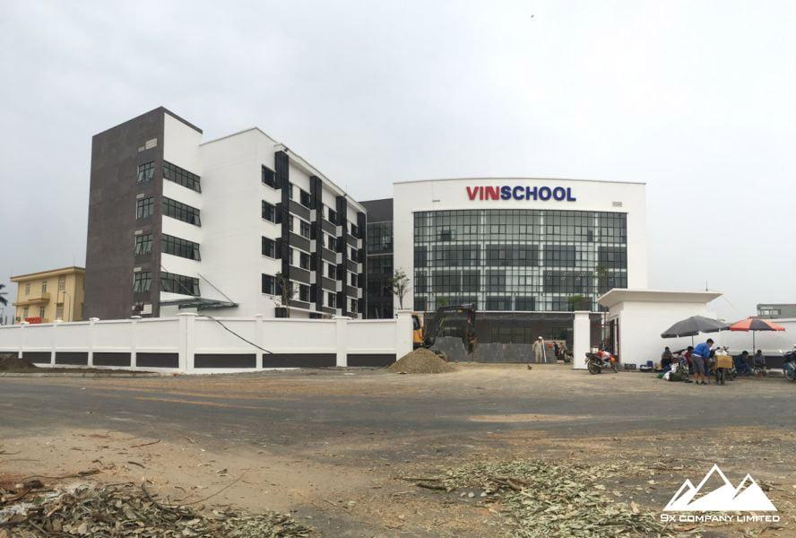 Công trình sau khi hoàn thiện đã nhận được sự đánh giá rất cao từ chủ đầu tư và các phụ huynh học sinh theo học tại trường