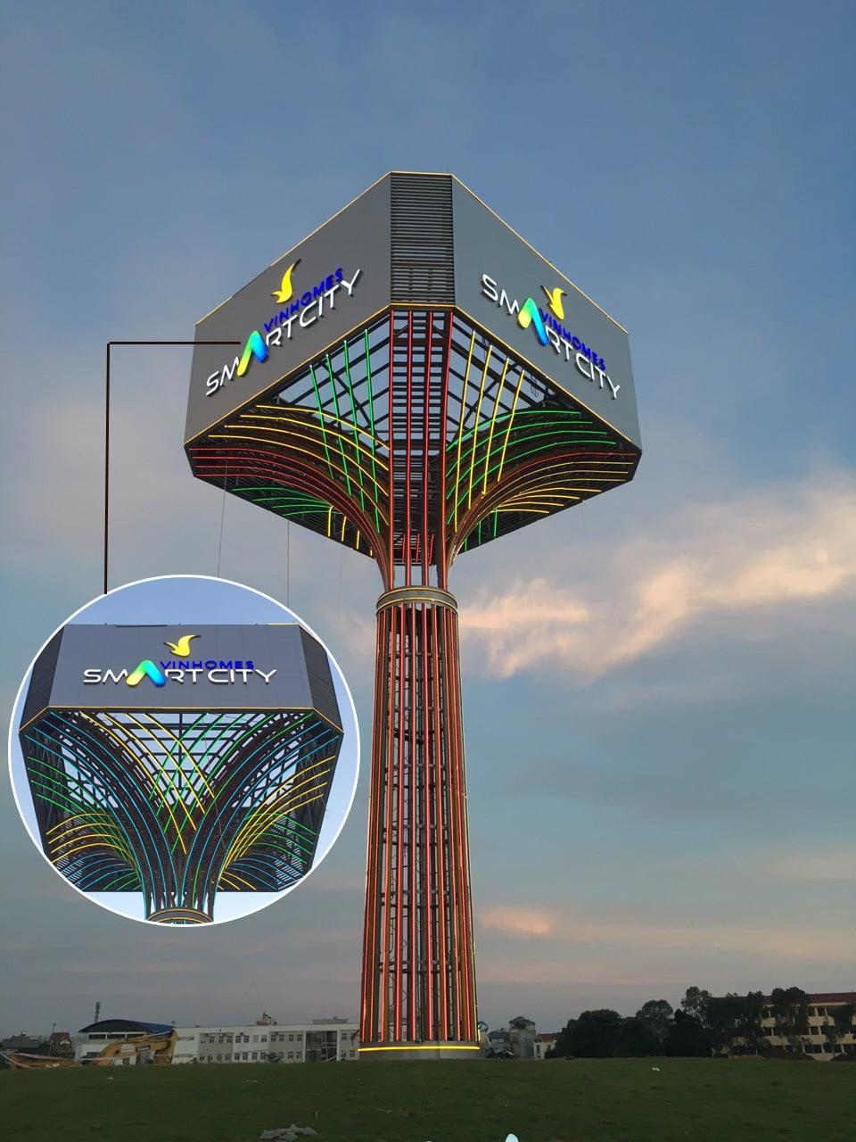 Cây ánh sáng Vinhomes Smart City - Đại Mỗ, Từ Liêm, HN